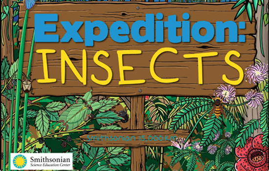 Expedition Insects. A Smithsonian interactive e-book
